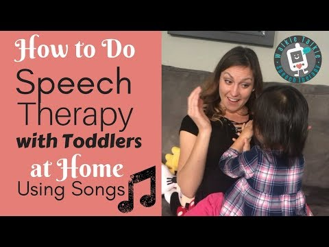 How to Do Speech Therapy with Toddlers at Home Using Songs