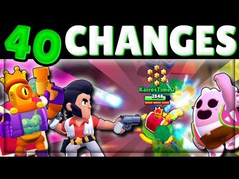 [Sneak Peek] EVERY Update Change!   New Brawler, New Skins, New Maps, & More!