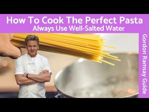 Gordon Ramsay Cooking Pasta Keep from Sticking