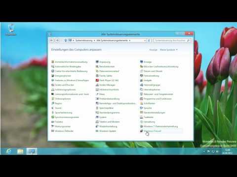 Windows 8 Firewall deaktivieren