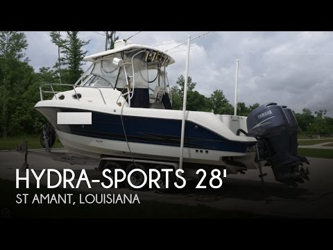 [UNAVAILABLE] Used 2004 Hydra-Sports 2800 Vector Walkaround in St Amant, Louisiana