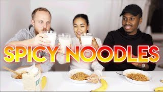 Spicy Noodle Challenge Ft. Liban & Olle Öberg