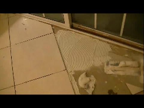 How To Cut Diagonal Tile on Floor (part 1 )