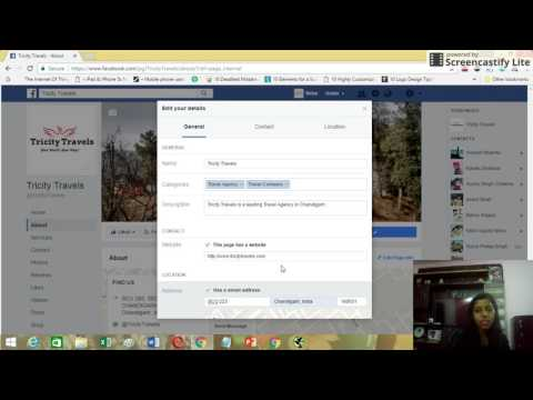 How to Change Business Address on Facebook Page | 2017