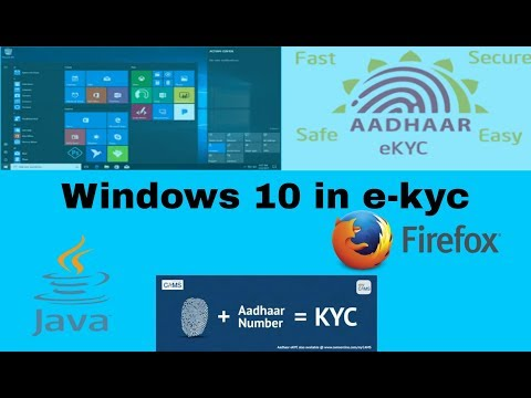 How to java & firefox install in windows 10 for pmgdisha e kyc full tutorial step by step