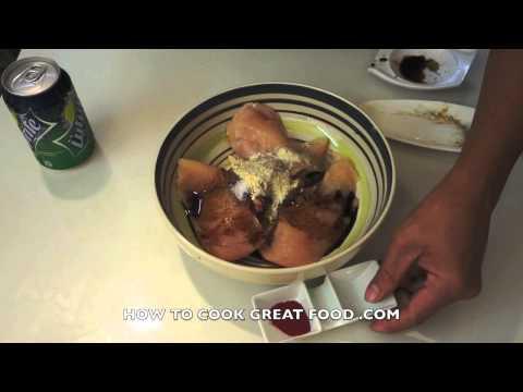 Paano magluto Chicken Tocino Recipe - Tagalog Pinoy Filipino cooking