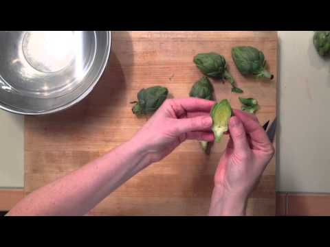 How to Prepare Baby Artichokes | Cooking Light