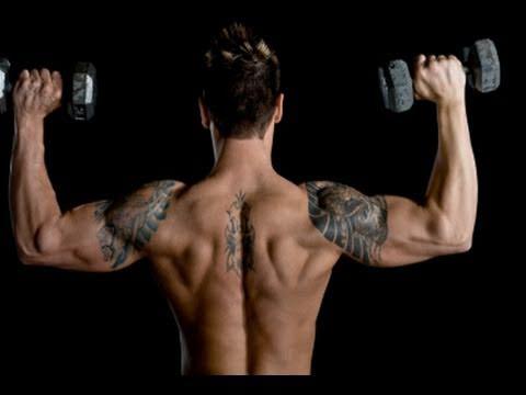 Advanced Home Shoulder Workout, Get Big Delts Fast!
