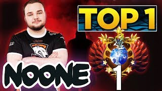 FIRST TIME EVER! Noone finally TOP 1 MMR Europe - EPIC Gameplay Compilation Dota 2
