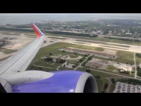 Southwest Airlines Boeing 737-700 Tampa - Key West (TPA-EYW) (04/2013) with Singing Flight Attendant