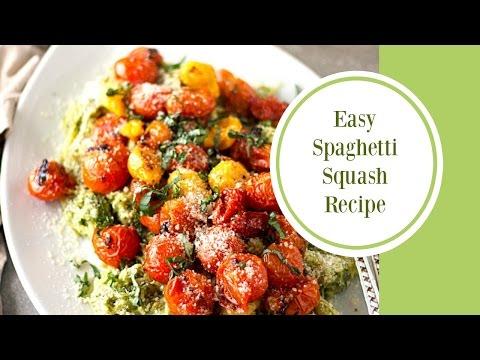 Easy Vegan Spaghetti Squash Recipe