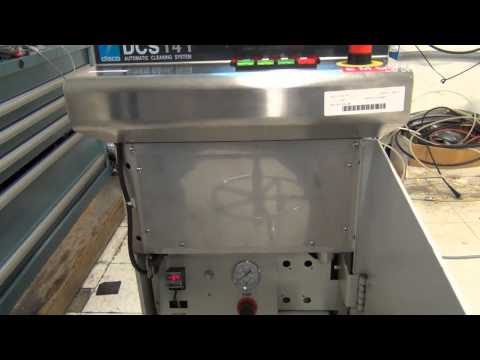 Disco DCS-141 Wafer Cleaning System #58130