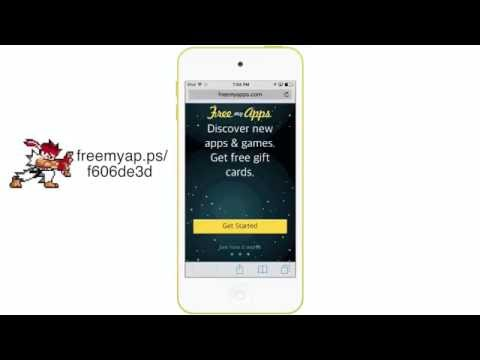 FreeMyApps: Tutorial (Getting Free Gift Cards) 2017 iOS & Andriod