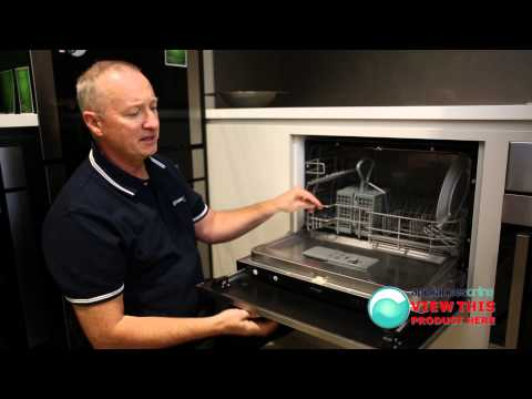 Omega's OFI101XA compact dishwasher with touch control settings - Appliances Online