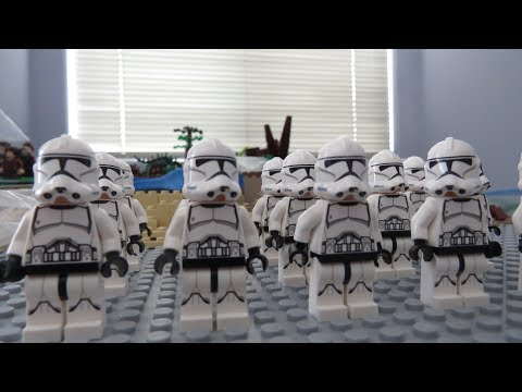 EPIC LEGO PHASE 2 CLONE ARMY VIDEO!!!!