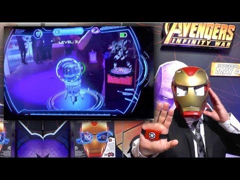 Marvel Hero Vision Augmented Reality Iron Man