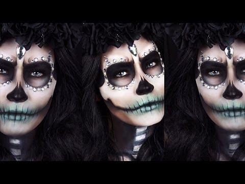 Sugar Skull Halloween Tutorial