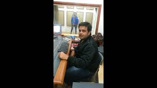 SACHIN AHUJA AND DILJAAN STUDIO SESSION NEW SONG