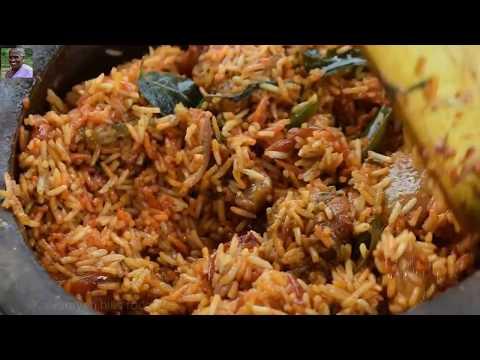 Pot Chicken Biryani Basmati Rice | Chicken biryani yummy - Grandma Making spicy chicken biryani.