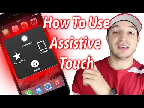 How To Use Assistive Touch - iPhone 6, 6 Plus, iPad and iPod Touch