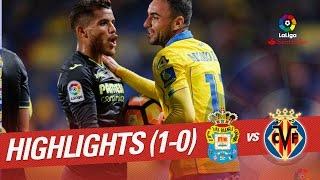 Resumen de UD Las Palmas vs Villarreal CF (1-0)