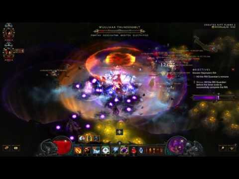 Diablo 3: The Diversity Of Uncommon Builds (Team 5/12 Grift 59 v2.4.1)