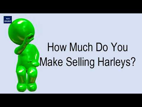 How Much Do You Make Selling Harleys?