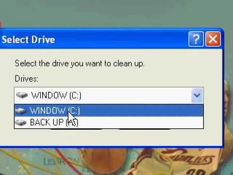 Technology X - How To Clean Up Disk Space On Windows XP