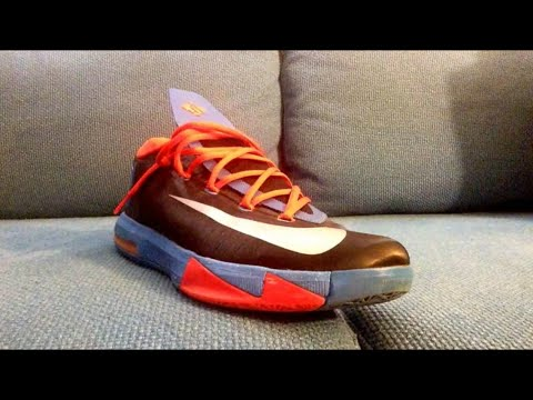 How I Lace My KD 6's