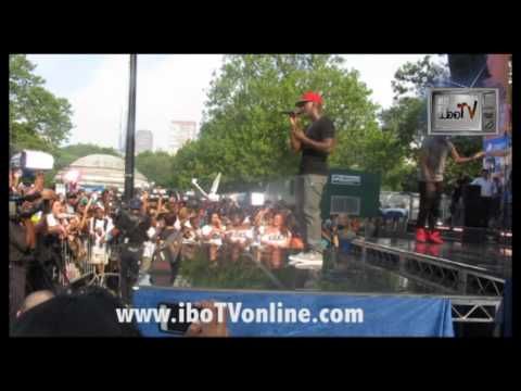 Ne-Yo Give Me Everything LIVE Good Morning America Summer Concert Series Central Park NYC iboTV