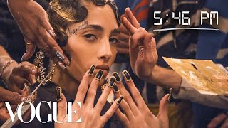 How Top Model YasminWijnaldum Gets Runway Ready | Diary of a Model | Vogue