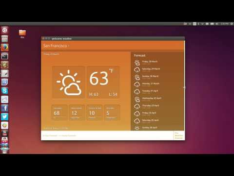 Ubuntu App Convergence: Weather App