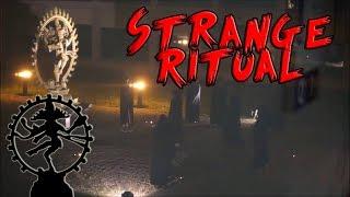 Strange Ritual at CERN