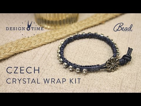 Czech Crystal Wrap Kit - Design Time