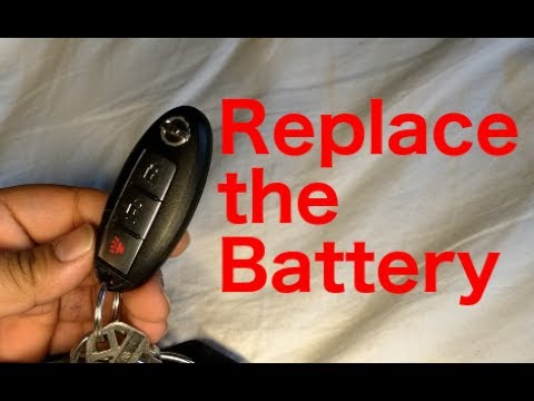Nissan Key Fob Battery Replacement (2011 Nissan LEAF)