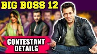 Bigg Boss 12 Contestant And Host Details - How Excited You Are For Season 12