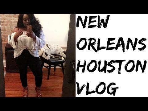 NEW ORLEANS/HOUSTON VLOG | Hubby's bday, Almost got arrested?