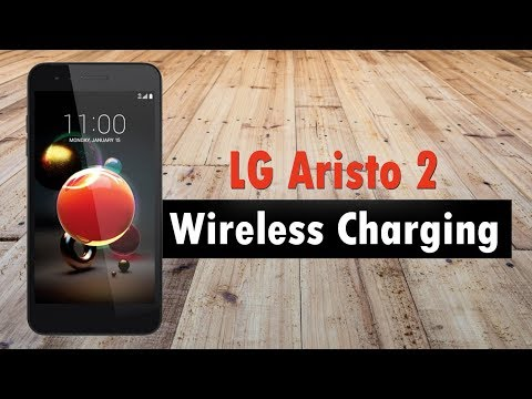 LG Aristo 2 How to Charge Wirelessly