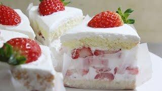커피명가 딸기케이크 / Strawberry shortcake / 베이킹 / baking : 하레