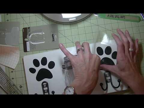 DIY Dog Treat & Leash Holder