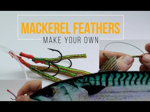 Sea fishing rig guide -Make your own Mackerel feathers
