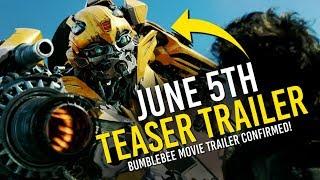 Transformers: 1st Bumblebee Movie Trailer Tomorrow! 😵