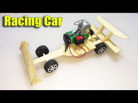 How to Make F1 Car from DC Motor DIY at Home - Life Hacks