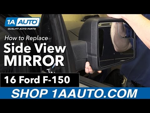 How to Replace Install Side View Mirror 16 Ford F-150