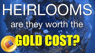 Are Heirlooms Worth The Gold Cost Comparison Of Leveling Wow Heirlooms