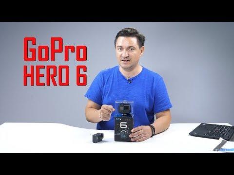 UNBOXING & REVIEW - GoPro Hero 6 Black. Bun, bun, bun.