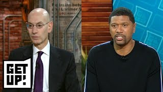 Jalen Rose and Adam Silver: NBA players have had roles in activism for decades | Get Up! | ESPN