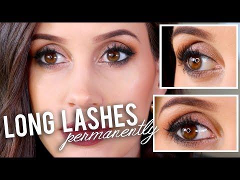 How I Grew Out My Eyelashes PERMANENTLY