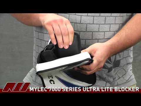 Mylec 7000 Series Ultra Lite Goalie Blocker