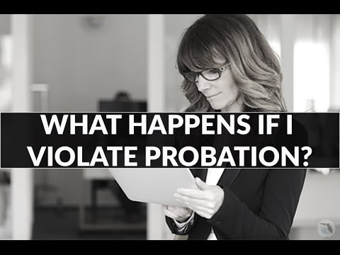 What happens if I violate probation?